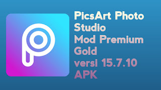 PicsArt Photo Studio Mod Premium Gold