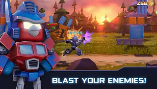 تحميل لعبة angry birds transformers مهكرة