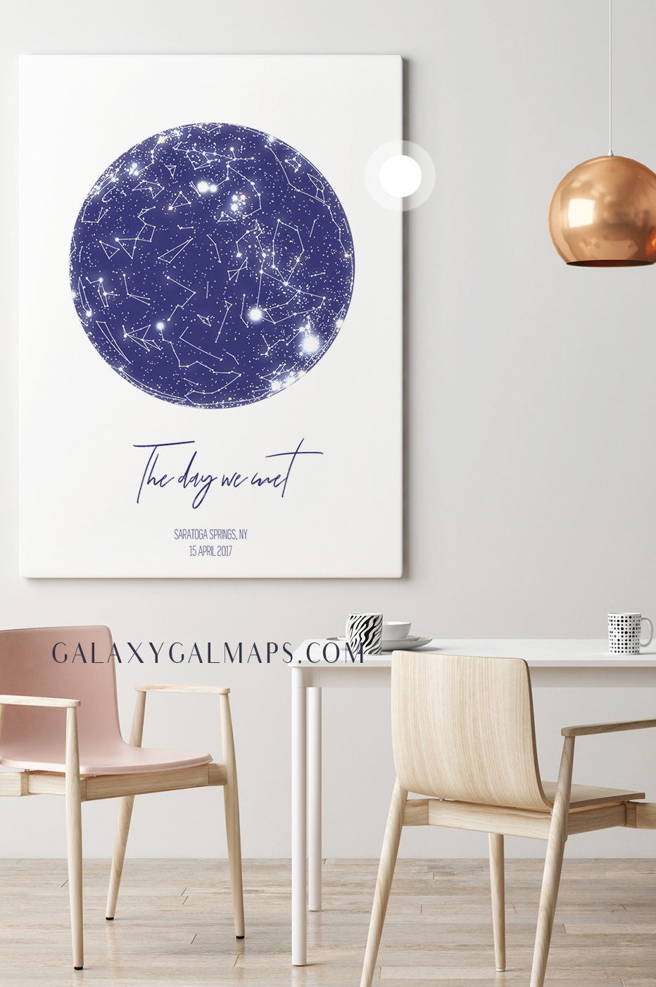 Star Map By Date And Location.Galaxygalmaps