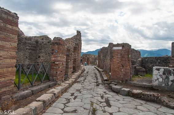 Pompeya. Recorrido por Napoles y alrededores