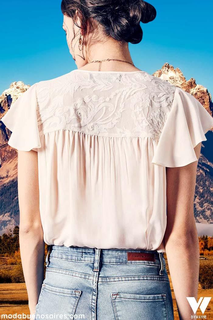 blusas delicadas invierno 2021 mujer