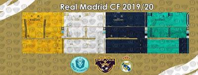 PES 6 Kits Real Madrid CF 2019/2020