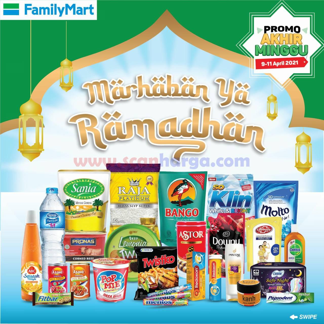 Katalog Promo JSM Family Mart Weekend 9 - 11 April 2021