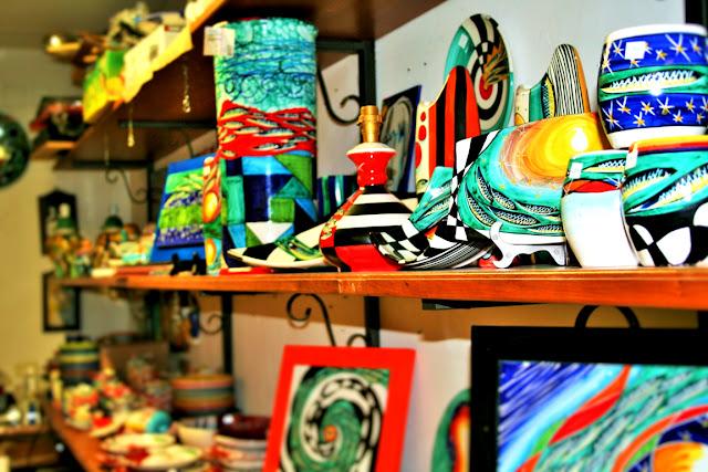 colori, vasi, ceramiche