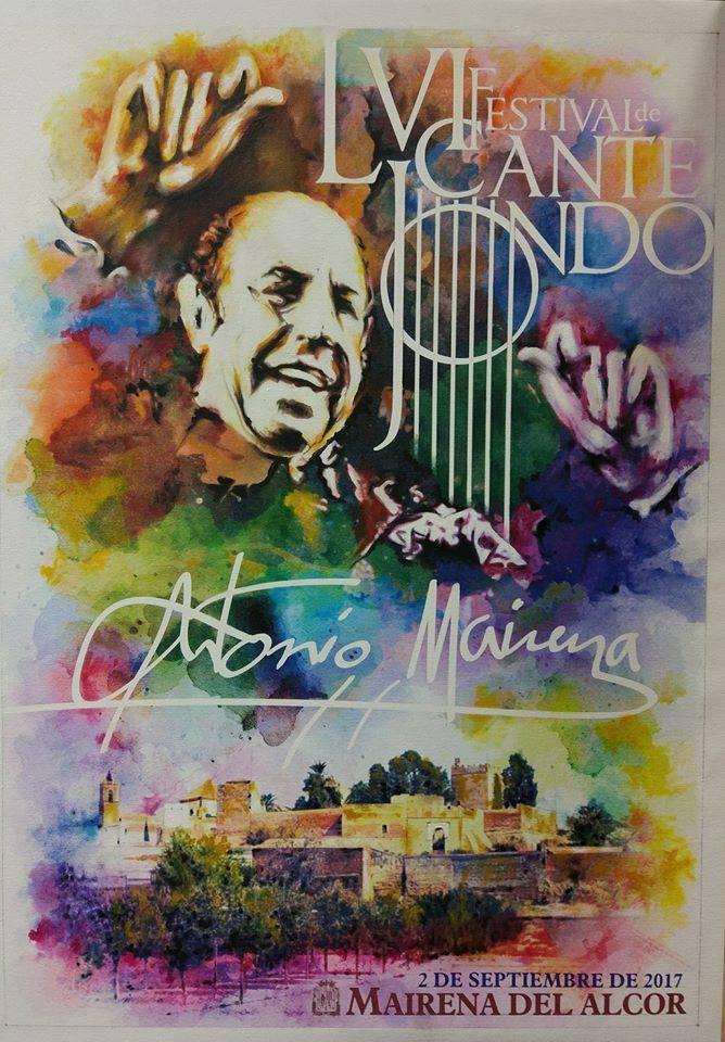 Festivales flamencos lvi festival de cante jondo antonio for Piscina mairena del alcor 2017