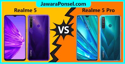 Perbandingan Realme 5 dan Realme 5 Pro