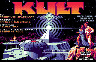 KULT The Temple of Flying Saucers - Chamber of the Sci-Mutant Priestess