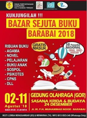 Contoh Flyer Buku