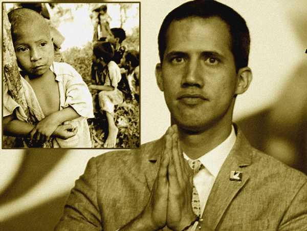 EEUU desviará 42 Millones para niños pobres en «América Central» a Guaidó
