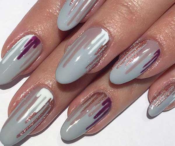 Dripping Polish Cute Nails