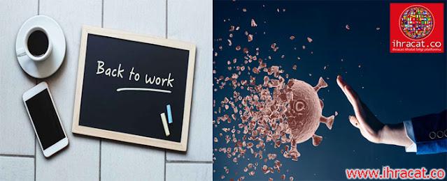 coronavirüs işyeri rehberi, coronavirus guide, ihracat.co