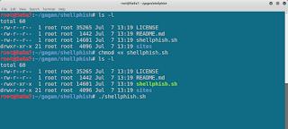 Phishing Using Shellphish - Cybrary