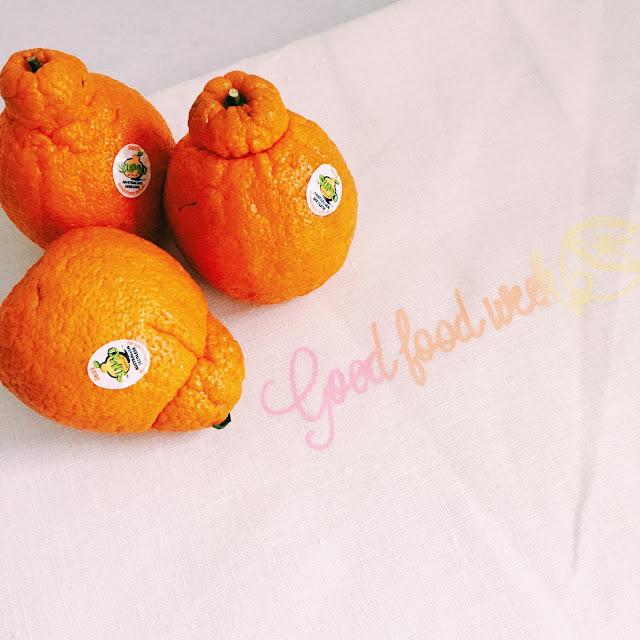 GoodFoodWeek and sumo mandarins