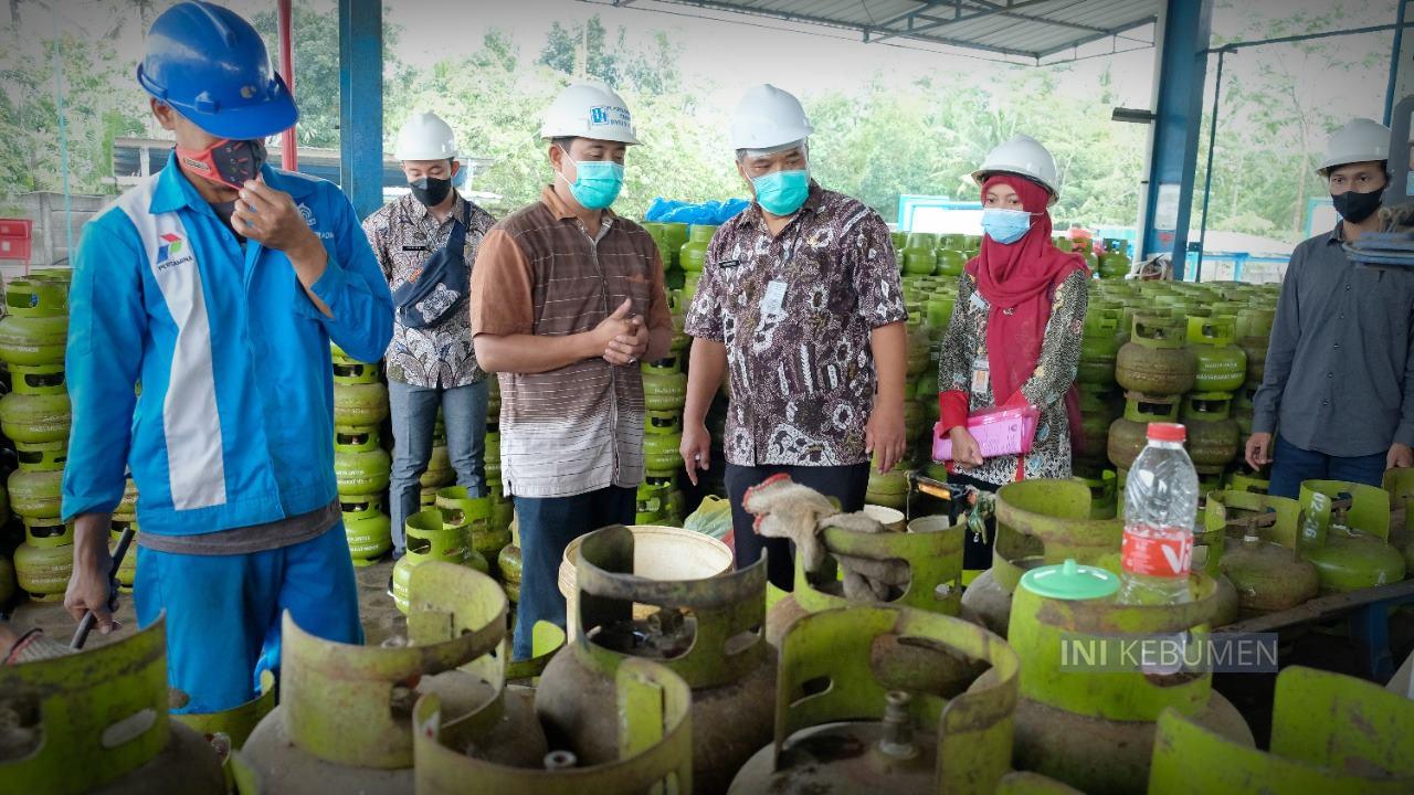 Dapat Tambahan 15.120 Tabung, Stok Gas Melon di Kebumen Aman untuk 3 Hari