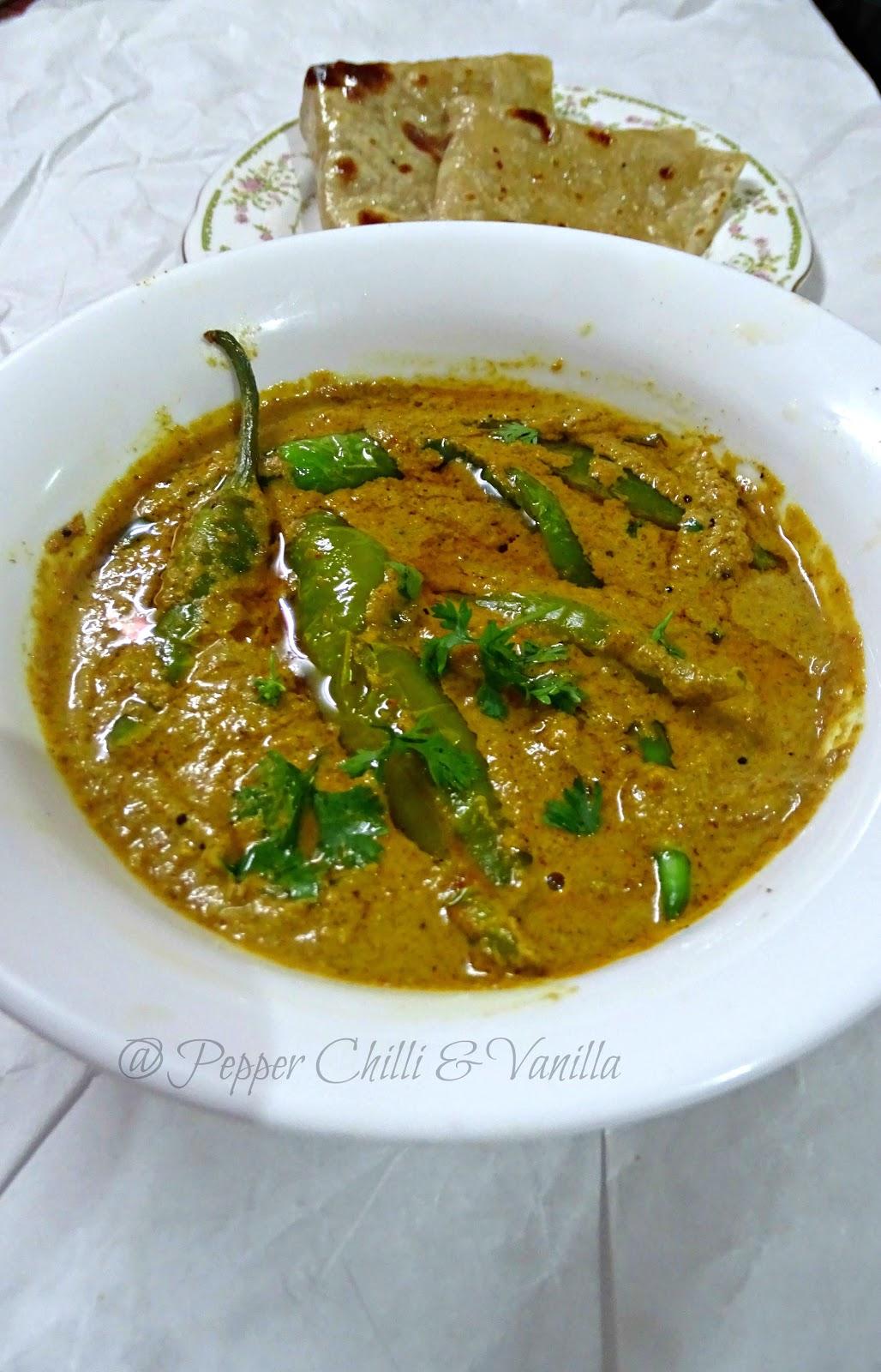 biryani mirchi salan recipe