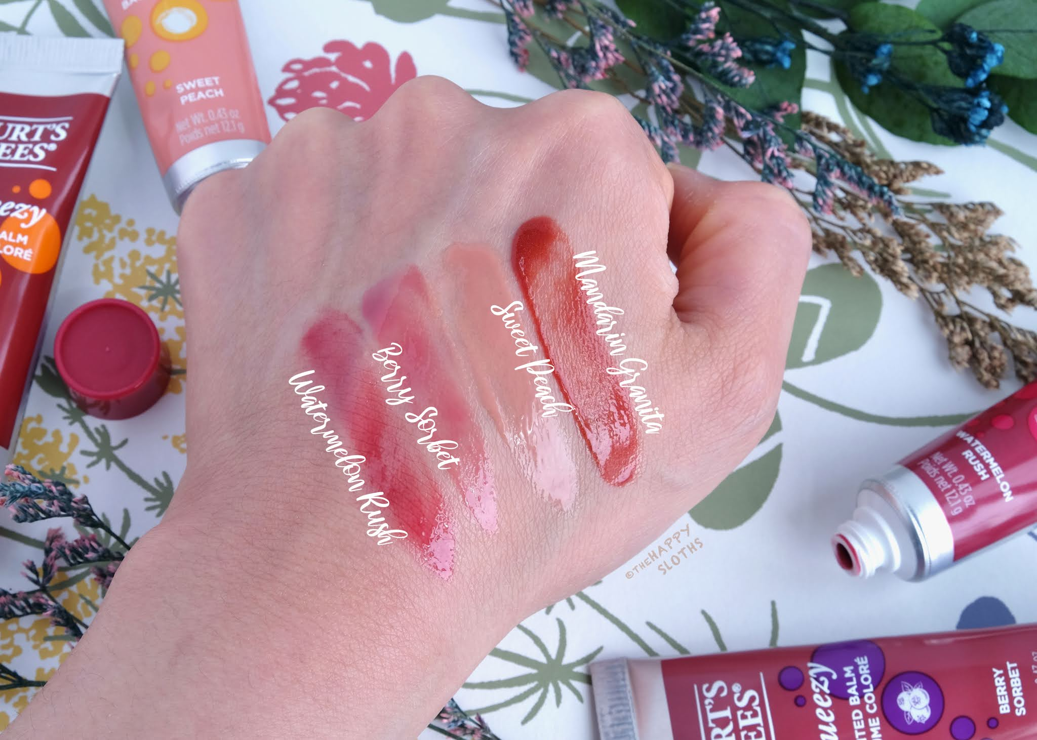 Burt's Bees | Squeezy Tinted Balm: Review and Swatches