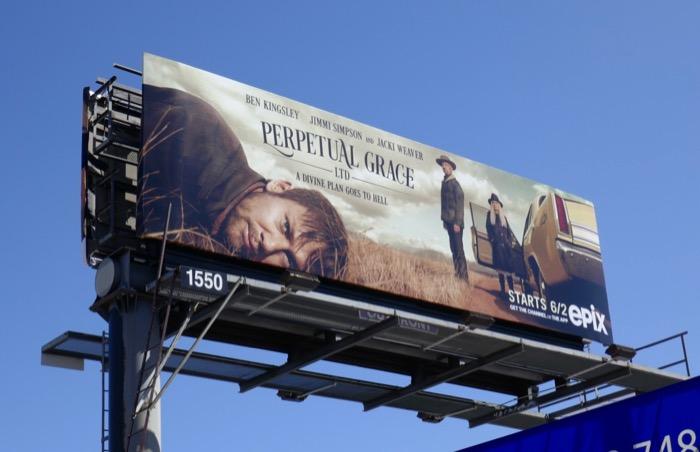 Perpetual Grace Ltd series launch billboard