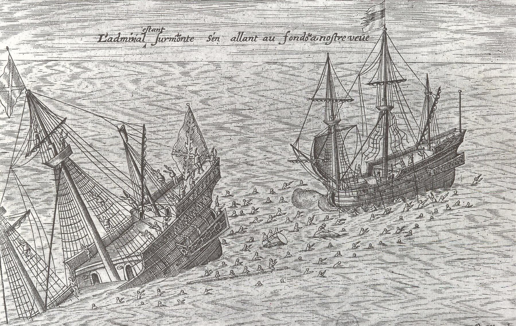San Diego Shipwreck Near Fortune Island in Batangas, Philippines [Amazing Archeology]