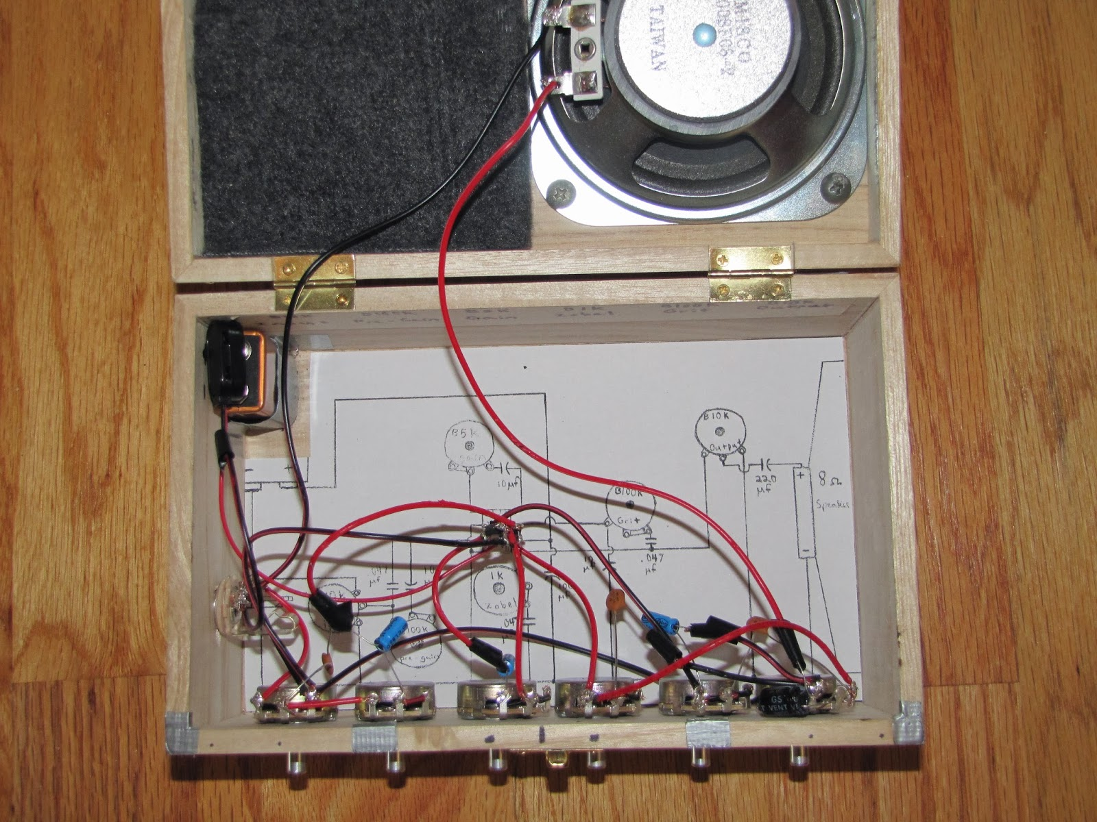 hight resolution of science fair experimental lm386 amp