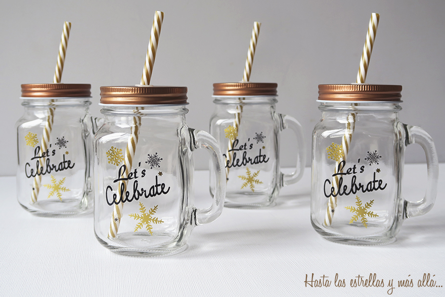 christmas mason jar DIY