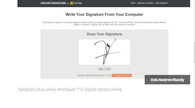 Cara Membuat Tanda Tangan Digital Secara Online