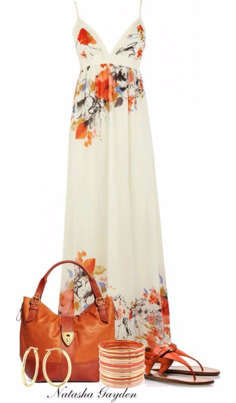 9 BEAUTIFUL MAXI DRESS OUTFITS TO WEAR THIS SUMMER