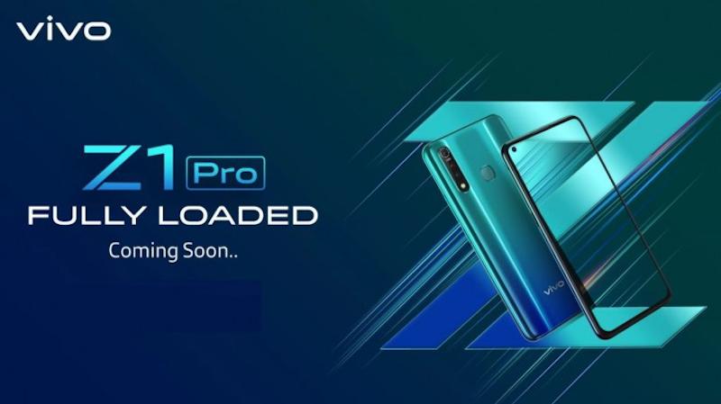 Vivo Z1 Pro's official design revealed