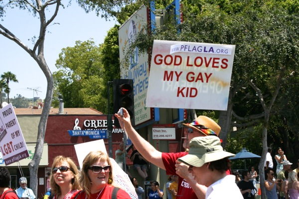 God love my gay kid LA Pride 2010