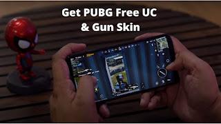 PUBG Free UC and PUBG Free Gun Skin