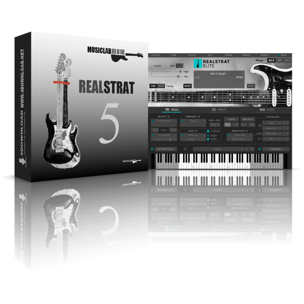 MusicLab RealStrat v5.0.2.7424 Full version