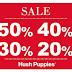 Zapatos con descuentos hasta de 50% en Hush Puppies SALE