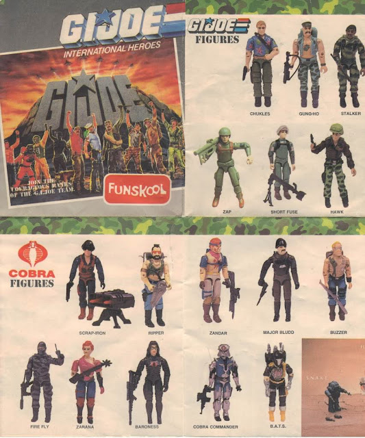 Early Funskool Figures, Catalog