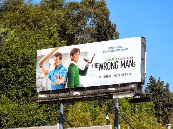 Wrong Mans billboard ad