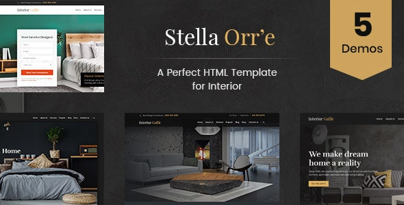 Architecture And Interior HTML Template