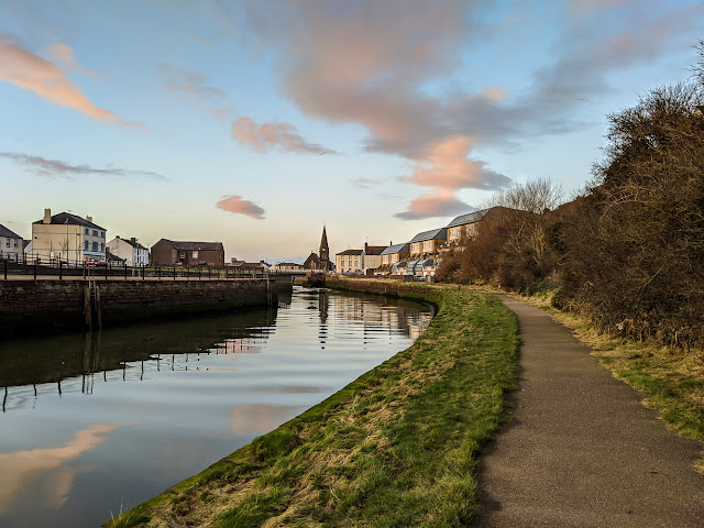 Photo of the River Ellen at Maryport