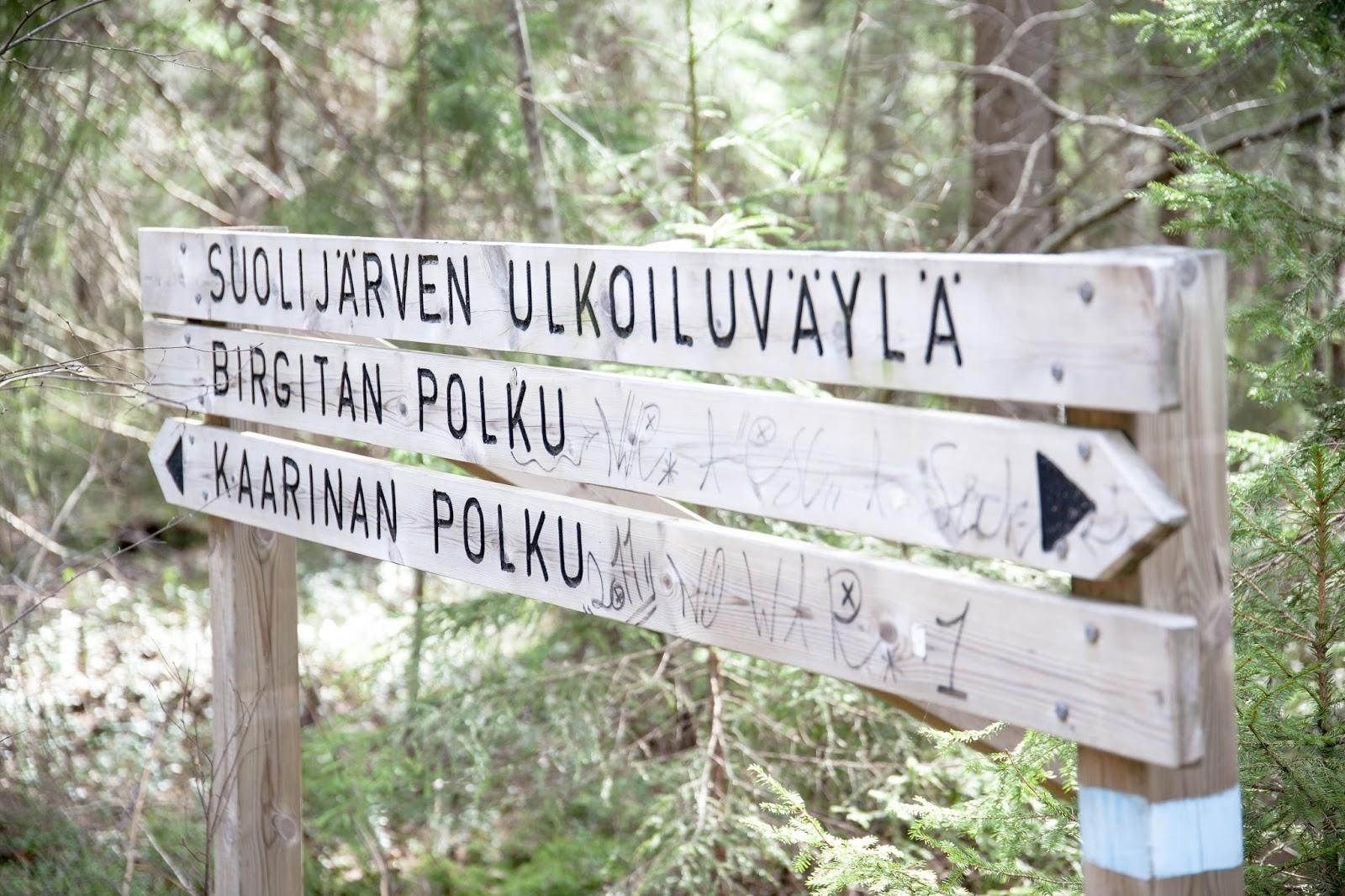 luontopolku suolijärvi tampere