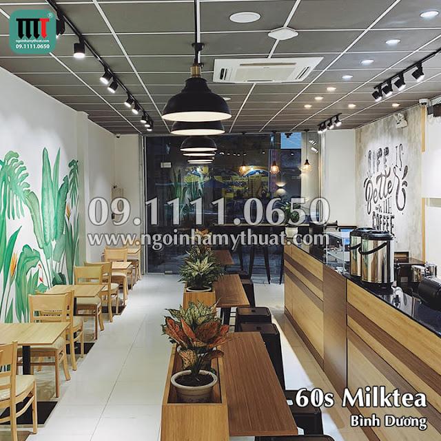Những mẫu quán cafe, trà sữa rẻ đẹp nhất