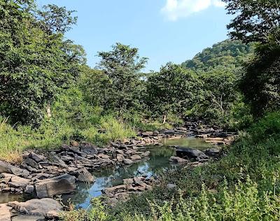 वसुधा जलप्रपात कटनी - Vasudha Falls Katni