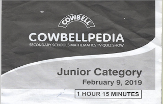 Cowbellpedia Past Questions & Answers [2009 - 2020] | PDF Download
