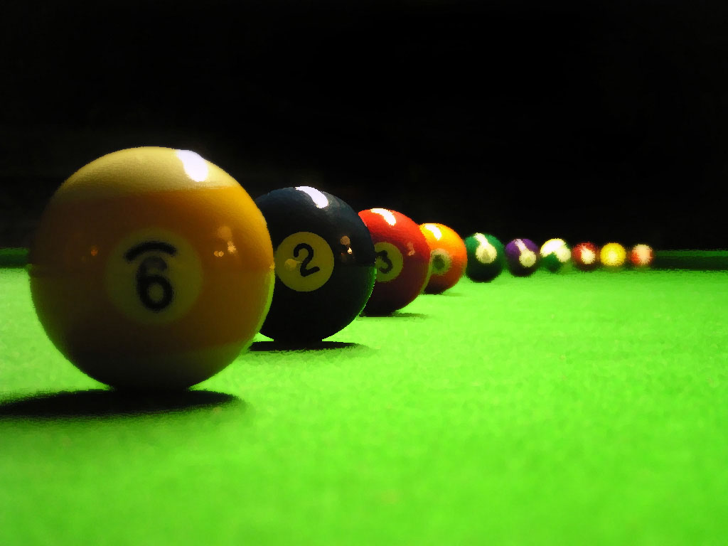 wallpapers: Billiards Balls Wallpapers