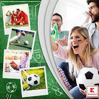 Castiga echipamente de fotbal pentru tine si cinci prieteni, abonamente pe terenul de fotbal, vouchere de cumparaturi in Kaufland