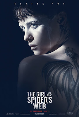 The Girl in the Spiders Web 2018 Dual Audio Hindi 300MB Movie