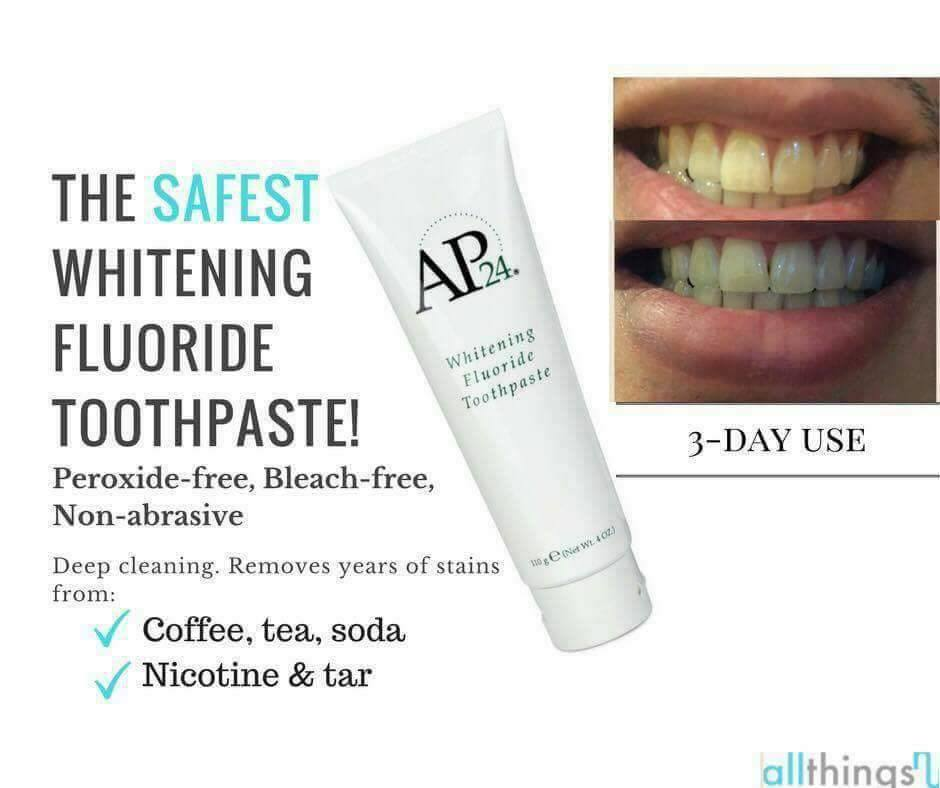 Whitening toothpastes a review of the