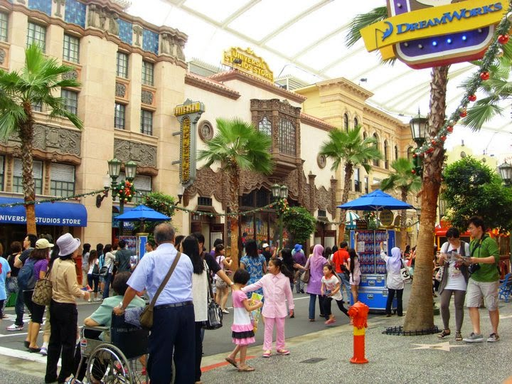 Hollywood Boulevard Universal Studios Singapore