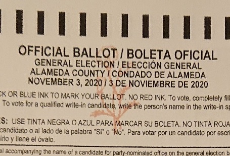 Photo of the Ballot Watermark || SFIII (Reader)