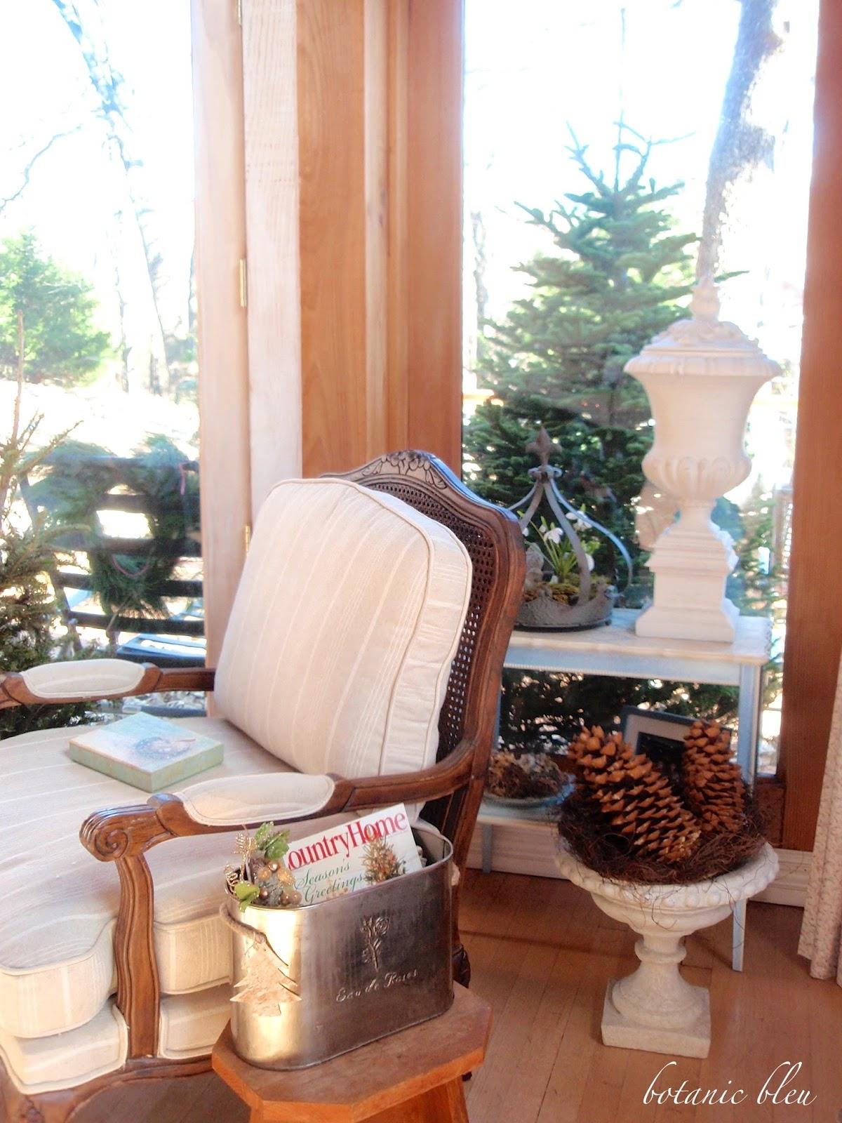 botanic bleu easy christmas decor - Wholesale Country Christmas Decor