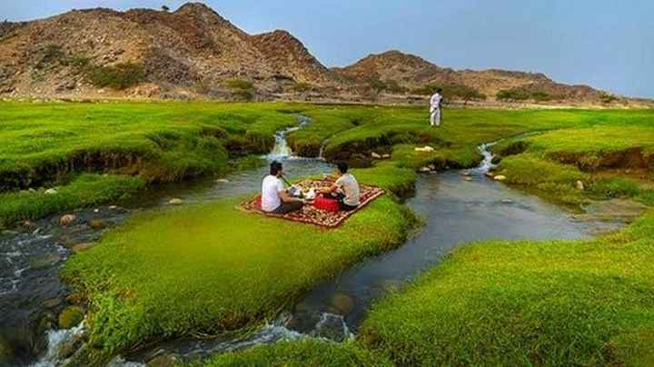 Wadi al-Bardani, Surga Indah yang Tersembunyi di Arab Saudi