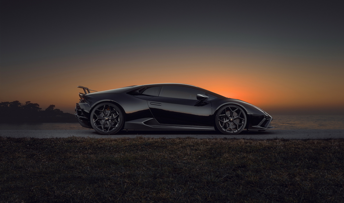 Novitec Lamborghini Huracán - spectacular and dynamic