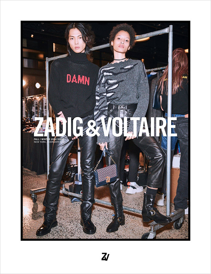 Zadig & Voltaire's Fall/Winter 2020/21 Campaign
