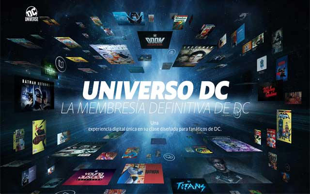 DC Universe streaming video